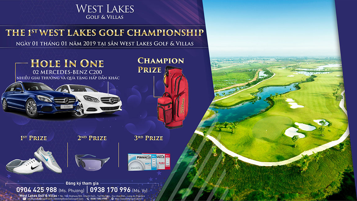 The 1st west lakes golf championship